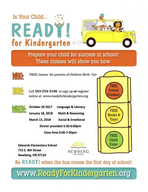 Is Your Child Ready For Kindergarten >> Parent Classes Make Sure Your Child Is Ready For Kindergarten