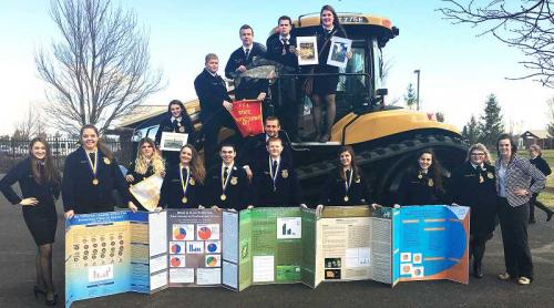 In The News: NHS FFA claims four firsts | Newberg Oregon School District