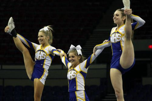 NHS Cheerleaders win 4A State Runner-Up Trophy | Southwest ...