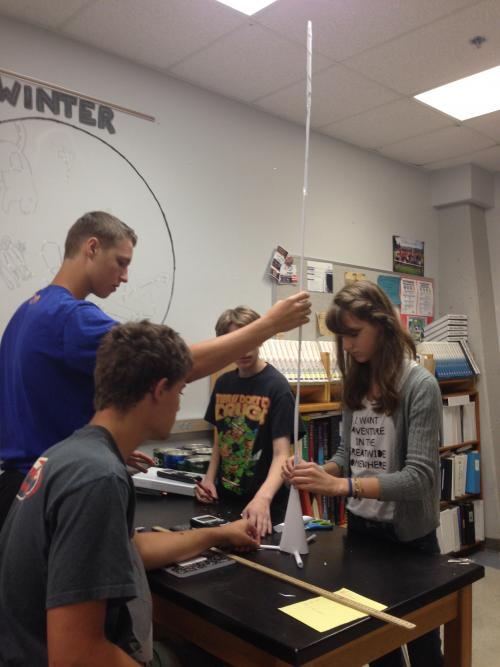 Physics Paper Tower Challenge Newberg Oregon School District